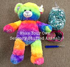 Perfect for Heilyn! 10 Ways to Use Weighted Sensory Stuffed Animals | The Jenny Evolution