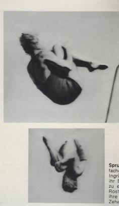 Gerhard Richter : Turmspringerin I High Diver I 1965
