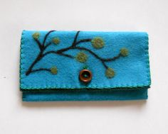 needle felted wallets - Google Search