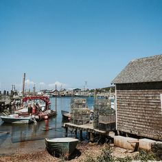 "Fishing Village used for ""Jaws"" - Martha's Vineyard"