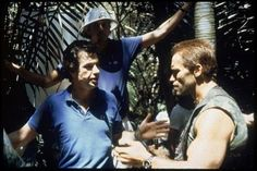 Arnold Schwarzenegger and John Mctiernan