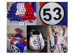 Noah wants a Herbie party for when he turns 7!