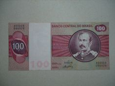 BRASIL - 100 CRUZEIROS. Nostalgia, Money Bill, Crescendo, World Coins, My Memory, Coin Collecting, Childhood Memories, Stuff To Do, The Past