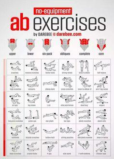 Ab target exercises