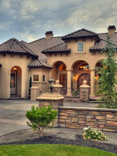 Mediterranean Exterior Design, Pictures, Remodel, Decor and Ideas - page 56