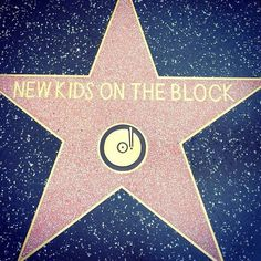 NKOTB Walk of Fame