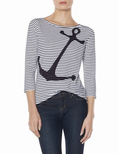 Striped Anchor Tee from THELIMITED.com
