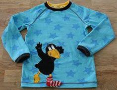 kreativ-mal-zwei: Rabe Socke Shirt: