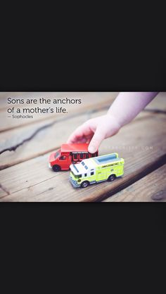 The anchor of a mother's life