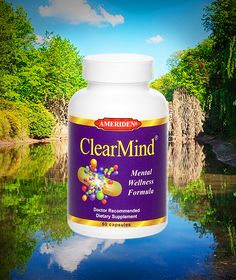 Clear Mind | Increase Focus | Health Supplement Store - Ameriden