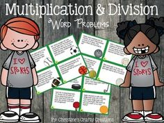24 sports themed addition and subtraction task cards.