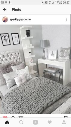 25 Small Bedroom Ideas That Are Look Stylishly & Space Saving - Spectacular Small bedroom ideas on a spending plan – Searching for tiny bedroom furnishings and a - Bedroom Inspo, Home Bedroom, Modern Bedroom, Girls Bedroom, Contemporary Bedroom, Ikea Bedroom, Trendy Bedroom, Bedroom 2018, Bedroom Colors