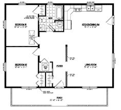 28x32 house plans Google Search For the Home Pinterest