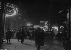 Buildings all around the junction starting showcasing their own eye-grabbing offerings, with several on show in 1936
