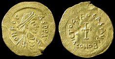Byzantine Empire. Phocas, Nov 23, 602 - October 610 AD.