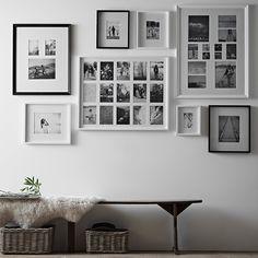 Fine Wood Photo Frame 8x10''   Photo Frames   Home Accessories   Home   The White Company UK