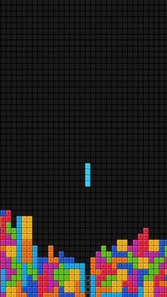 Tetris Game Colorful iPhone 5 Wallpaper.jpg 640×1,136픽셀