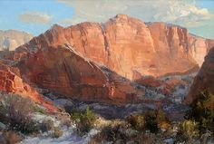 Kolob in January by Kathryn Stats - Greenhouse Gallery of Fine Art
