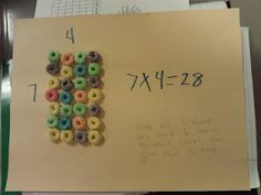 Edible Arrays - this lesson was a lot of fun to do.