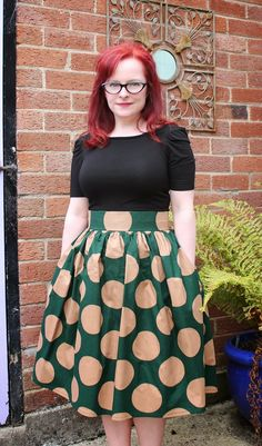Clemence skirt-by Tilly and the buttons