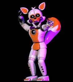 Lolbit, looking as dazzling as ever, my good sir