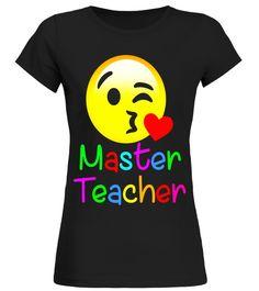 master teacher emoji hearts love t shirt for lover