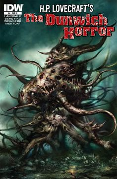 Lovecraft's The Dunwich Horror - The Dunwich Horror; The Hound (Issue) La Sombra Sobre Innsmouth, The Dunwich Horror, Call Of Cthulhu Rpg, Horror Comics, Horror Art, Lovecraftian Horror, Mundo Geek, Horror Fiction, Hp Lovecraft