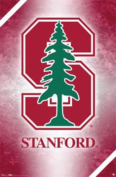 Stanford Logo By Unknown Poster Print Stanford University Football Stanford University Stanford Football