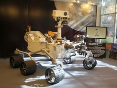 A model of the Mars rover Curiosity, similar to the one shown here, will ride in the Inaugural Parade on Jan.