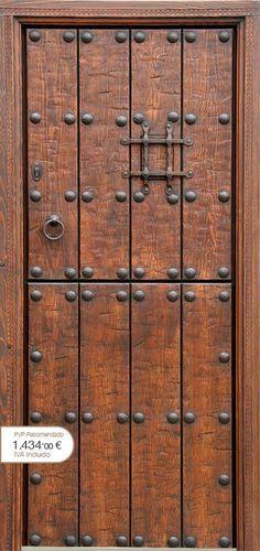 Portones hierro forjado buscar con google arquitectura - Puertas rusticas alpujarrenas ...