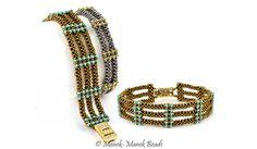 The Tatiana Bracelet :  Manek-Manek Beads - Jewelry | Kits | Beads | Patterns