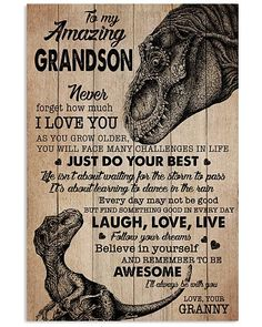 Shop for unique Grandson apparel and homegoods on CoolGrandmaStore. Find the perfect Grandson t-shirts, mugs, posters, phone cases, and more. Boy Quotes, Sign Quotes, Daily Motivational Quotes, Inspirational Quotes, Grandchildren, Grandkids, Grandson Quotes, Positive Affirmations For Kids, Feather Meaning