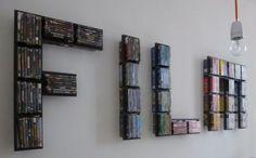 2-Stueck-IKEA-DVD-Regal-Metall-Lerberg-Anthrazit-WIE-NEU