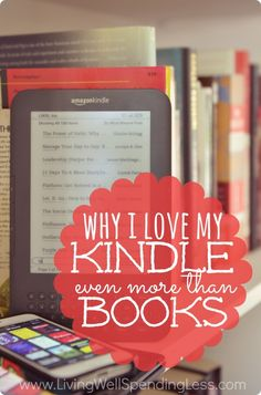 Why I love my Kindle more than books. Still on the fence about whether an e-reader is for you? I never thought I would prefer a Kindle to real books, but that was before I discovered all the hidden perks!