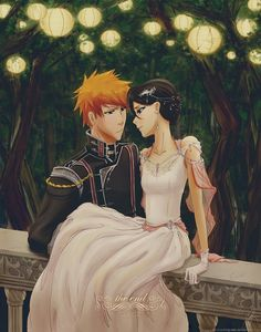 This is one of my favorite drawings! I love Ichigo and Rukia in this image!