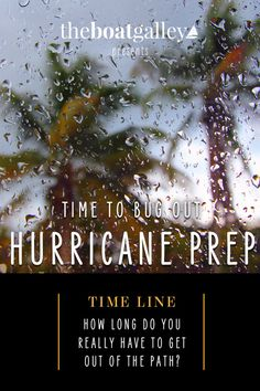 The weather is forecasting a hurricane headed in your direction? How long do you have to get ready? #hurricane #liveaboard Cruise Boat, I Need To Know, Do You Really, Boats, Prepping, Weather, How To Get, Tips