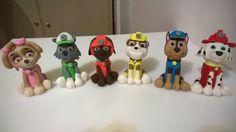 Paw Patrol in pasta di zucchero