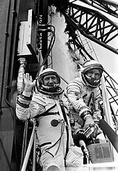 On March 18, 1965, Alexey Leonov made a 12 minute, 9 second long spacewalk outside during the Vokshod 2 mission. He became the first man to perform EVA (extra-vehicular activity) in space. Again, this became a celebrated event in the USSR and put the States into an even greater state of unrest. The States sent Edward White to become the first American to conduct EVA on a space mission in June 3 of 1965.