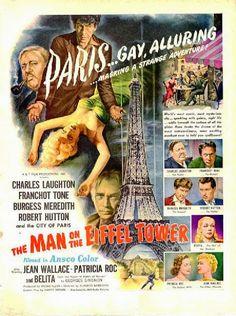 Cinemelodic: Crítica: EL HOMBRE DE LA TORRE EIFFEL (1949)