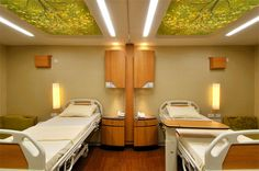 Patient Room - Ceiling, millwork, lighting _______________________________  www.carch.ca/healthcare/  Toronto Healthcare Architects