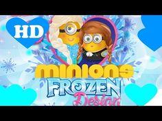 ♥ Minions as Elsa Frozen And Anna Frozen Elsa Frozen Minions Games  ♥