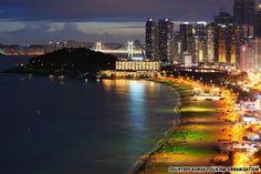 Haeundai Beach, Busan, South Korea