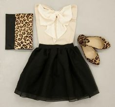 Cute with Pops of Leopard
