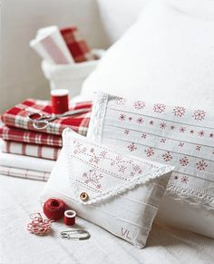 embroidery project from marie claire idees