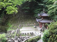 Otagi Nenbutsuji Temple, Kyoto