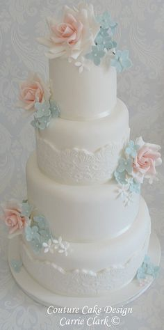 Wedding Cake Lace - Couture Bridal Lace