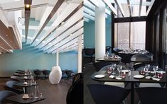 We are a global and creative design studio in Geneva, Tokyo and Beijing. Dining Tables, Coffee Tables, Interior Architecture, Interior Design, Black Chairs, Place Mats, Corridor, Hospitality, Creative Design