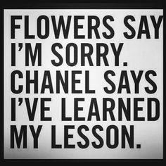 The right way to apologize.