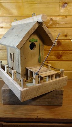 Bird House Kits Make Great Bird Houses Bird House Plans, Bird House Kits, Decorative Bird Houses, Bird Houses Diy, Backyard Projects, Wood Projects, Traditional Birdhouses, Woodworking Plans, Woodworking Projects