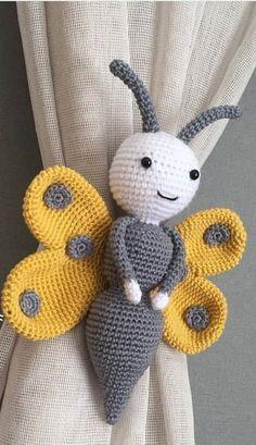 amigurumi amigurumi idea # 39634 shared by Evelyn Crochet Baby Toys, Crochet Patterns Amigurumi, Amigurumi Doll, Crochet Gifts, Crochet Dolls, Crochet Stitches, Knitting Patterns, Knit Crochet, Crochet For Beginners
